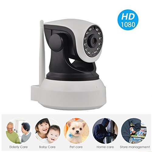 1080P HD ethernet SMART security wirelss Camera