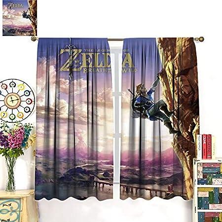 DRAGON VINES Cortina de juego The Legend of Zelda Link No Bouken Princess Zelda - Cortina de partición utilizada para cortinas elegantes para decoración de estudio y fiestas, 214 x 214 cm
