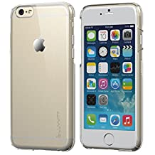 iPhone 6 Case, LUVVITT® CRISTAL Hard Shell Anti-Scratch Transparent Clear Back Case for iPhone 6 Air / iPhone Air Case / 4.7 inch Screen (Does NOT fit iPhone 5 5S 5C 4 4s or iPhone 6 Plus 5.5 inch screen) - Crystal Clear iPhone 6 Case