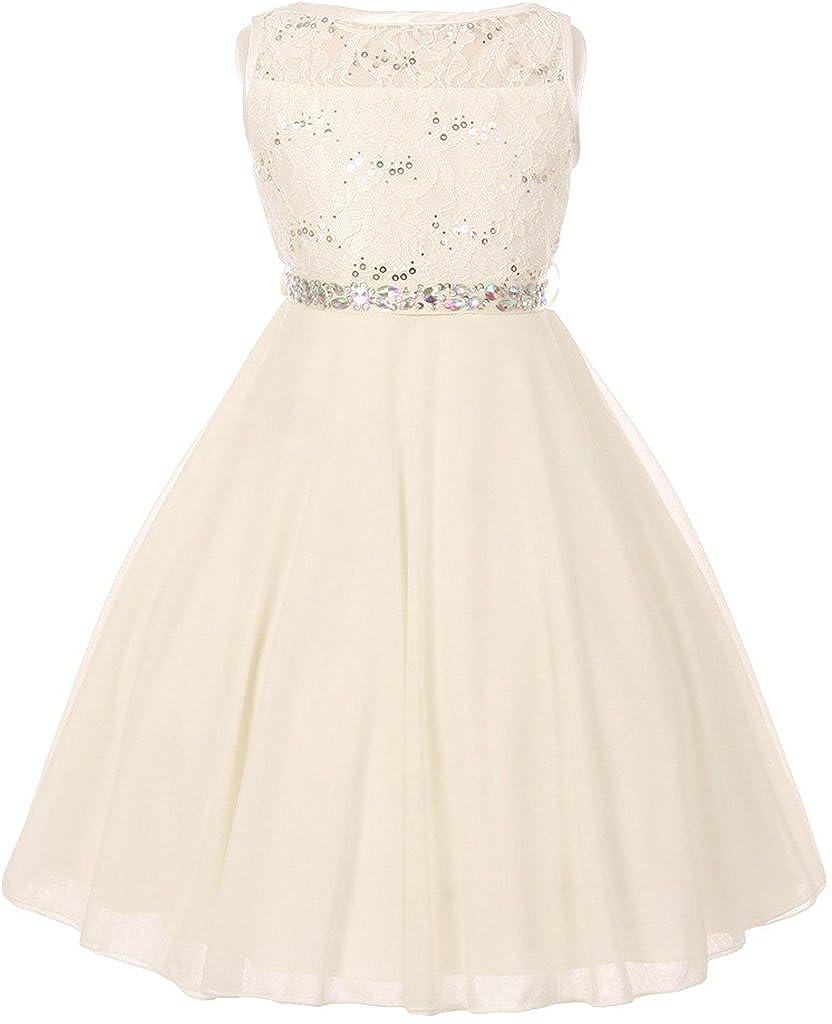 Flower Girl Dress Double Chiffon T-Length Dress