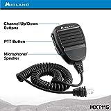 Midland - MXT115, 15 Watt GMRS MicroMobile Two-Way