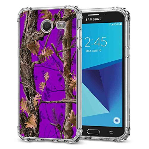 Galaxy J3 Emerge Camo Case, BAYKE TPU Bumper