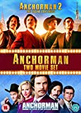 Anchorman 1-2 Box Set [DVD] by Will Ferrell