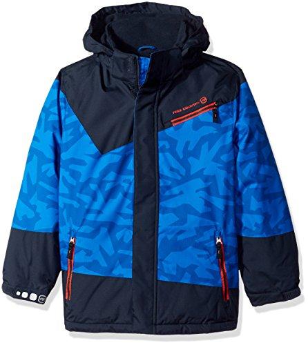 Free Country Big Boys' Boarder Jacket, Electric Blue, XL(18/20)