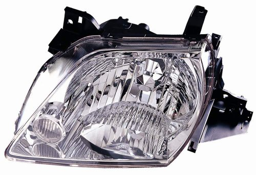 Mazda Mpv Replacement Headlight - Depo 316-1130L-US Mazda MPV Driver Side Replacement Headlight Unit without Bulb