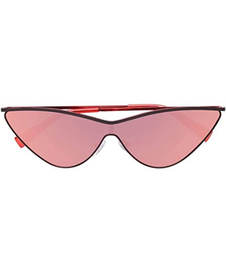 f20c62ad73f Le Specs Women s The Fugitive Sunglasses One Size Black   Red ...