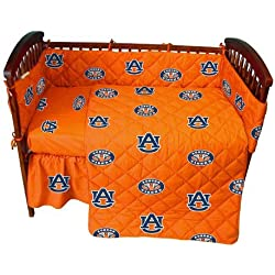 Auburn 5 Pc Baby Crib Logo Bedding Set by College Covers