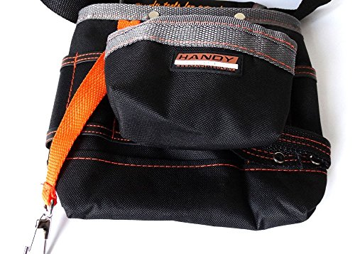 [Tool Pouch Electrician Tools Bag Electrical Tool Belt Waist Pocket Tool Belt Pouch.] (Kamen Rider Costume Maker)