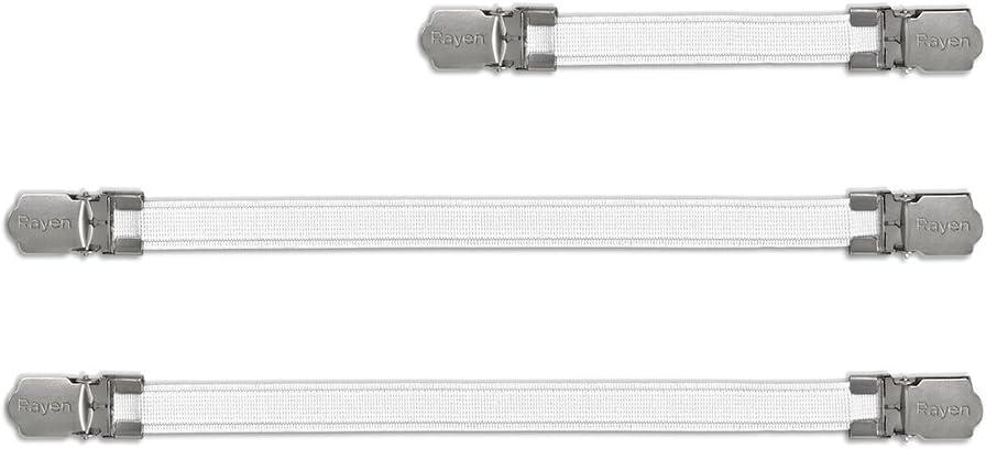 Rayen 6361.01 - Tensores para Fundas de Planchar, Color Blanco