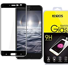 Khaos For HTC U11 [Full Coverage ] HD Clear Tempered Glass Screen Protector with Lifetime Replacement Warranty -Black