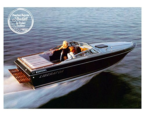 1985 Four Winns Liberator Power Boat Photo Poster from AutoLit