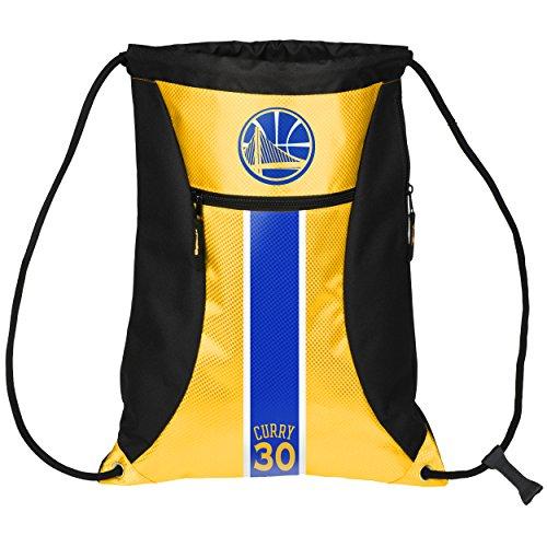 (Golden State Warriors Curry S. #30 Big Stripe Zipper Drawstring Backpack)