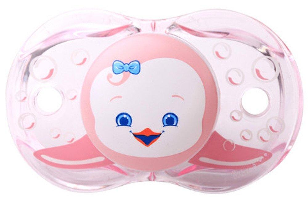 RaZbaby Keep-It-Kleen Pacifier, Rosa Penguin, 0-36 Months Kids, Infant, Child, Baby Products bébé, nourrisson, enfant, jouet