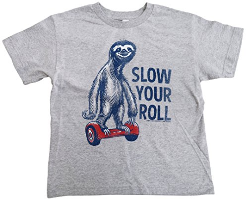 Boy'S Slow Your Roll Sloth Animal Shirt -