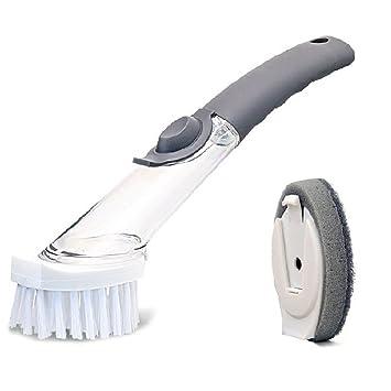 Esponja de limpieza, estropajo de limpieza de alta potencia, recargable, sin cable,