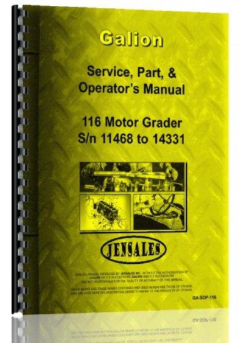 galion-116-grader-service-manual