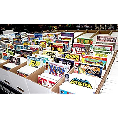 Comic Books Gift Pack - 20 Comics Marvel & DC Only - Superheroes Grab Bag: Toys & Games