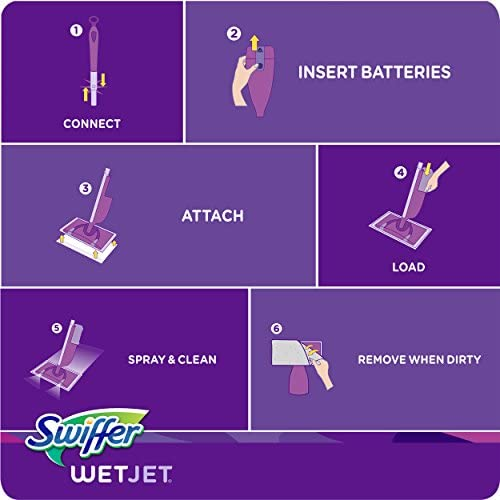 health, household, household supplies, cleaning tools, mopping, accessories, mop heads, sponges,  refill sponges 8 on sale Swiffer Wetjet Hardwood Mop Pad Refills for Floor promotion