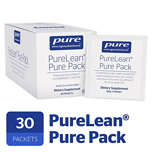 Pure Encapsulations - PureLean Pure Pack - Dietary Support for Healthy Glucose Metabolism and Weight Management* - 30 Packets (Mark Hyman 10 Day Detox Diet Reviews)
