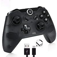 NX Control Inalambrico para Nintendo Switch PC Bluetooth Pro Controller Bateria Recargable con USB Tipo C - Fortnite PUBG