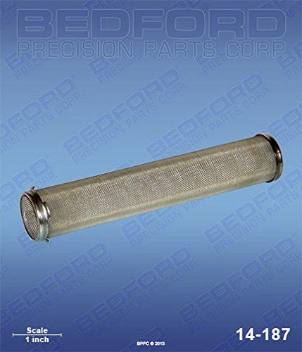 - GRACO 167-027 Bedford 14-187 Strainer, Manifold Filter - 200 Mesh (Long)