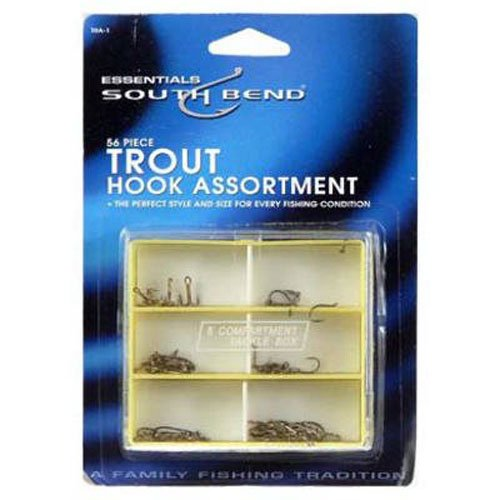 South Bend Live Bait Hook (South Bend Trout Hook Assortment)