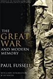 Book cover for The Great War and Modern Memory