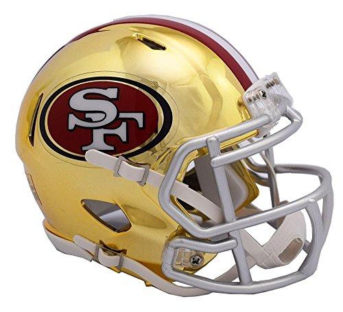 Riddell SAN FRANCISCO 49ers NFL Revolution SPEED Mini Football Helmet (San Francisco 49ers Limited Edition Football)