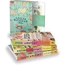 The Julia Rothman Collection: Farm Anatomy, Nature Anatomy, and Food Anatomy