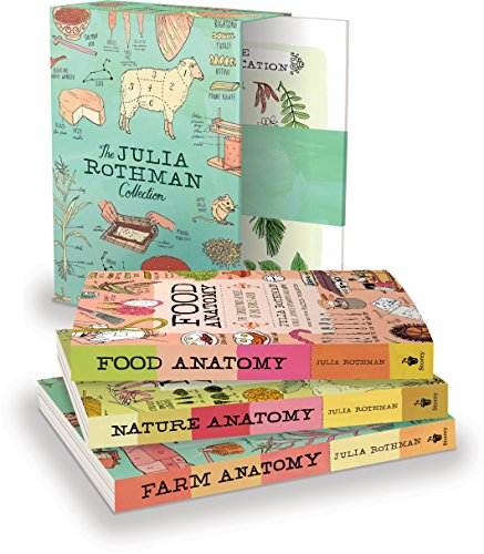 The Julia Rothman Collection: Farm Anatomy, Nature Anatomy, and Food Anatomy cover