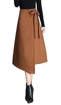 Mujer Primavera Otoño A Estilo Nuevo Líneas Otoño Faldas Tirantes ...