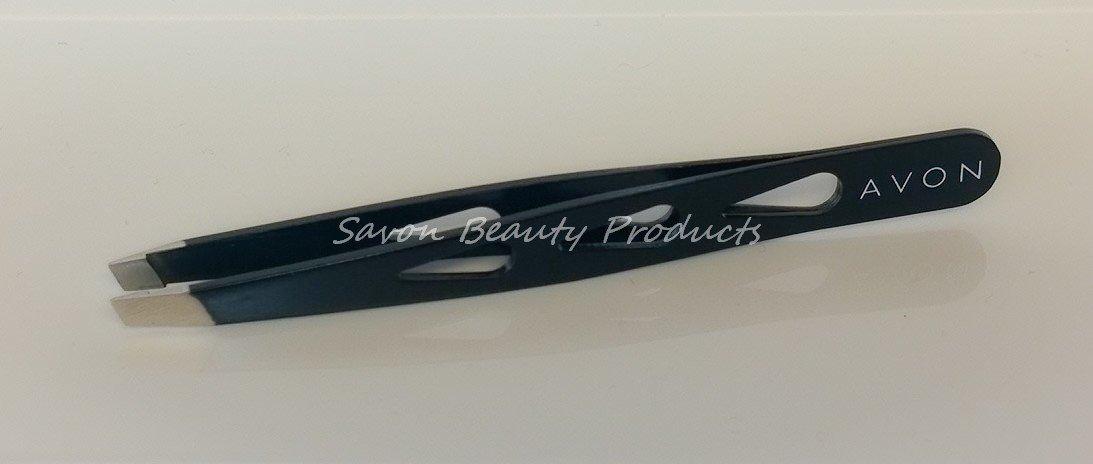 Avon Precision Tweezers Slanted Stainless Steel Tips