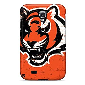 MansourMurray Samsung Galaxy S4 Best Hard Cell-phone Cases Unique Design Vivid Cincinnati Bengals Series [VHT16963OyTZ]