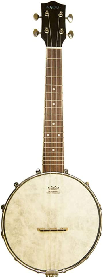 Sharplace Banjolele 4 Cuerdas Ukelele Banjo 23 Pulgadas Madera Caoba Sintonizador Saco Concierto