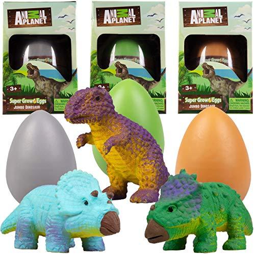 Animal Planet XL Super Grow Dinosaur Eggs- Jumbo 5