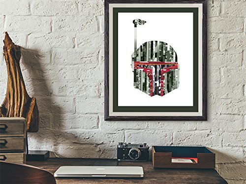 Beautiful Boba Fett Posters, Prints & Star Wars Art