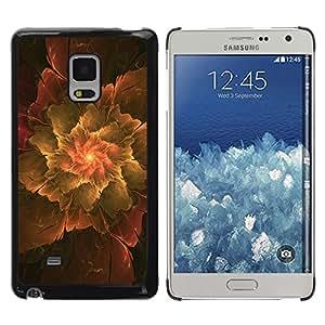 Exotic-Star ( Abstract Leaf ) Fundas Cover Cubre Hard Case Cover para Samsung Galaxy Mega 5.8 / i9150 / i9152