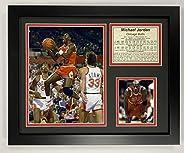 Legends Never Die Michael Jordan Away Framed Photo Collage, 11 x 14-Inch