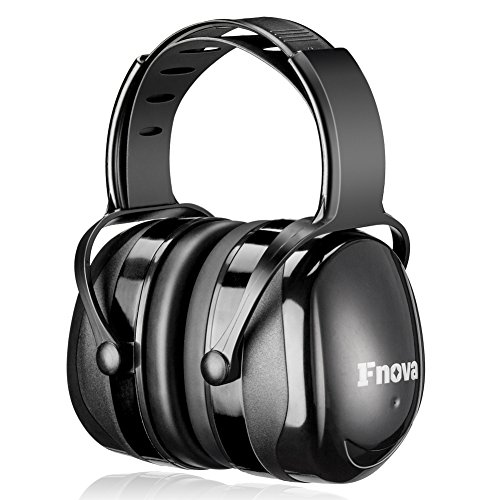 Fnova 34dB Highest NRR Safety Ear Muffs - Professional Ear Defenders for Shooting, Adjustable Headband Ear Protection/Shooting Hearing Protector Earmuffs Fits Adults to Kids (Best Place To Purchase Concert Tickets)