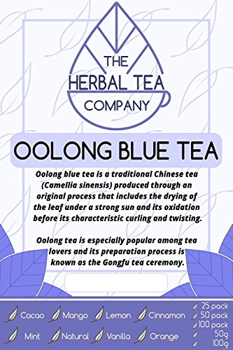 Prickly Pear Oolong Blue Tea Bags With Natural Flavour 25 Pack