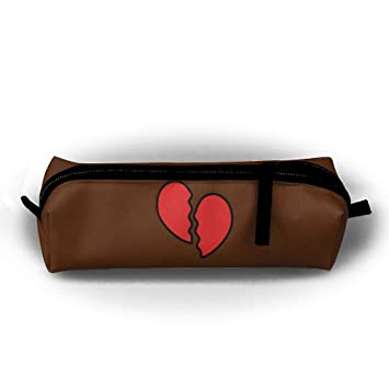 Amazon.com: Estuche para bolígrafo, diseño de corazón roto ...