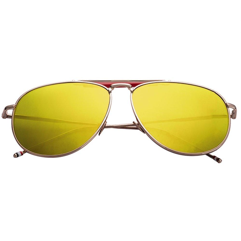 Sunglasses LVZAIXI Occhiali da sole da aviatore Moda da donna per uomo Anni '80 Retro Style Designer UV400 Lens Unisex