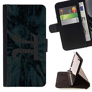 For Sony Xperia Z2 D6502 Case , Chisla Stroka Ryad pi matematika- la tarjeta de Crédito Slots PU Funda de cuero Monedero caso cubierta de piel
