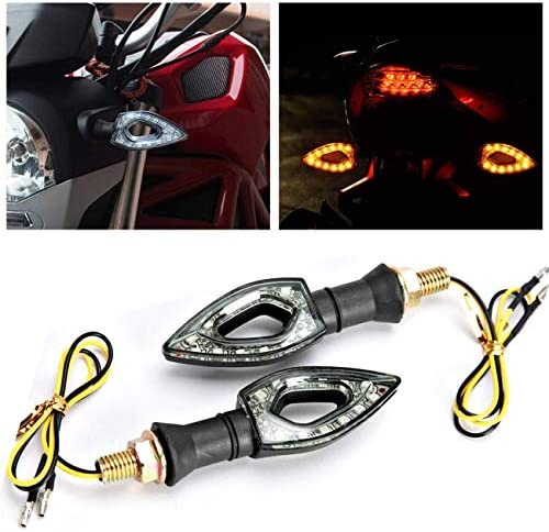 TY-UNLESS Universal Motorrad LED Mini Blinker Eagle Eye Form Blinker 1 One size