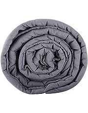 VONLUCE Gewichtsdeken Zwaartekracht deken anti-stress therapie deken betere slaap gewogen deken voor angststststoornis gewogen deken (152 x 203 cm / 9,1 kg (20 lb))