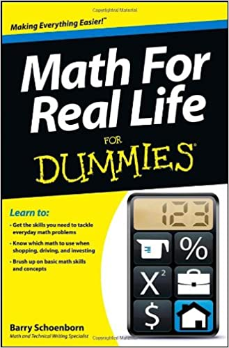 Book Math for Real Life For Dummies