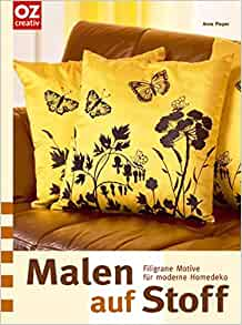 malen auf stoff anne pieper 9783898589956 books. Black Bedroom Furniture Sets. Home Design Ideas