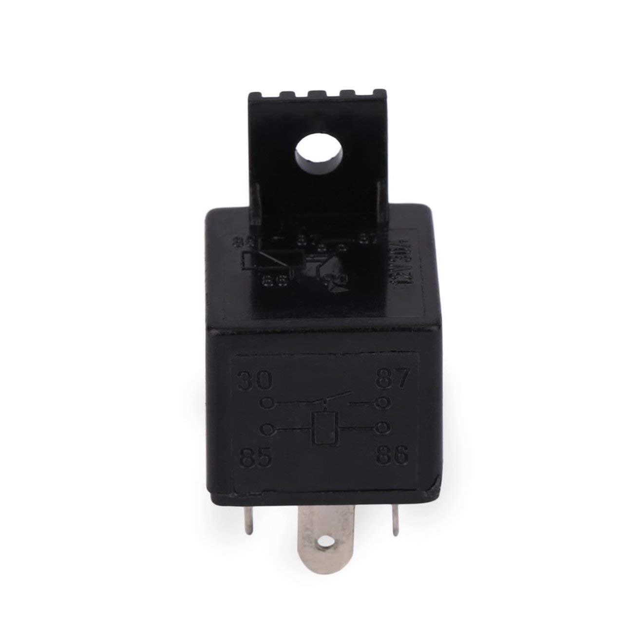 Relais automatique 4 relais de voiture de prise de fusible int/égr/é de CC 12V 30A de relais pour des pompes /à essence /électriques//pompes /à eau /électriques//phare