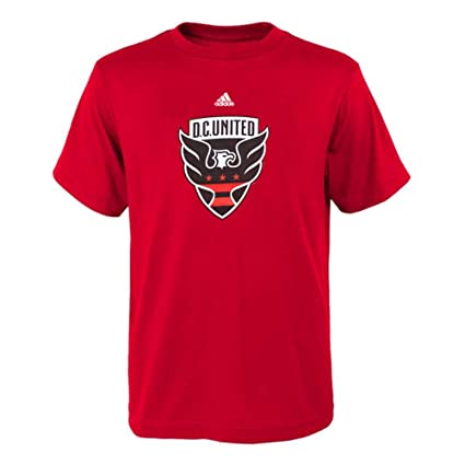 1be7d8b29 Amazon.com : adidas Youth D.C. United Team Primary Logo T-Shirt ...