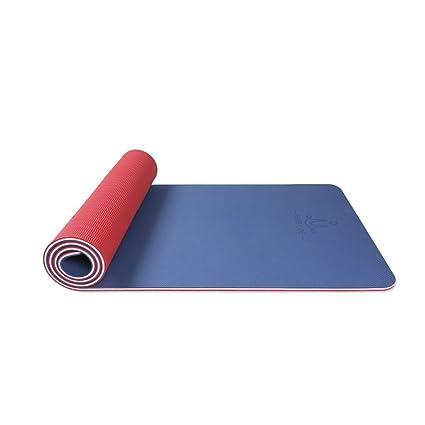 Amazon.com : FS Yoga Mat, Thickening Widened Ladies Yoga Mat ...